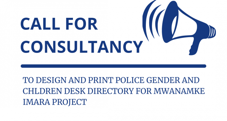Consultancy To Print And Design Police Gender And Children Desk Directory For Mwanamke Imara Project