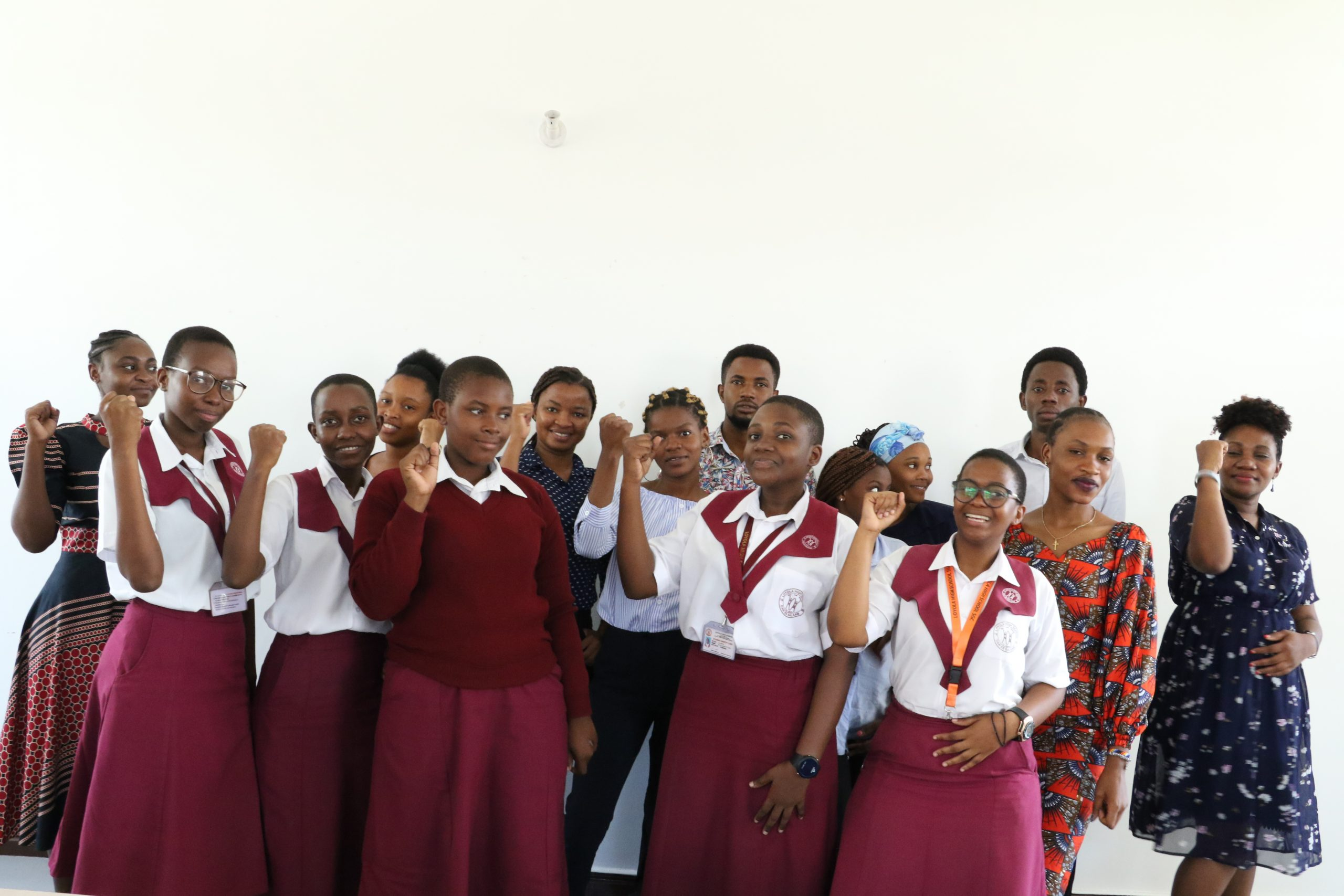 Learning Session with Students from Loyola Secondary School